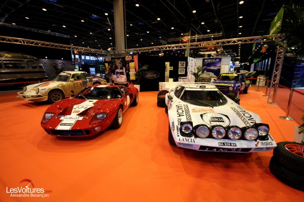 Lancia Stratos Ford GT40