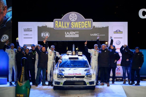 Latvala-podium-Rallye-Suède-2014