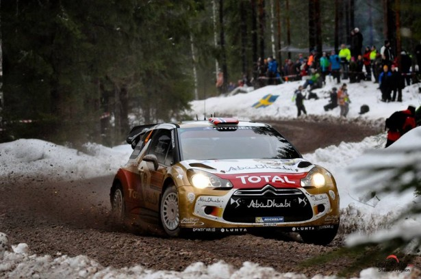 Rally-Suede-2014-WRC-Mads-Ostberg-DS3-WRC