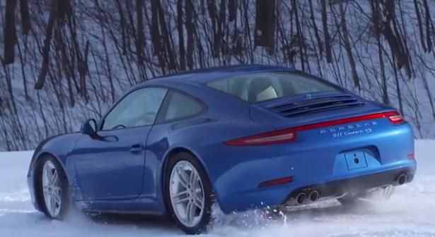 Video-Porsche-911-Carrera-4S-Porsche-Winter-Driving-Experience