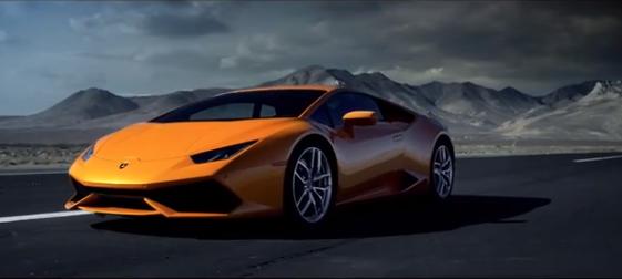 Vidéo : la Lamborghini Huracán LP 610-4 comme au cinéma !