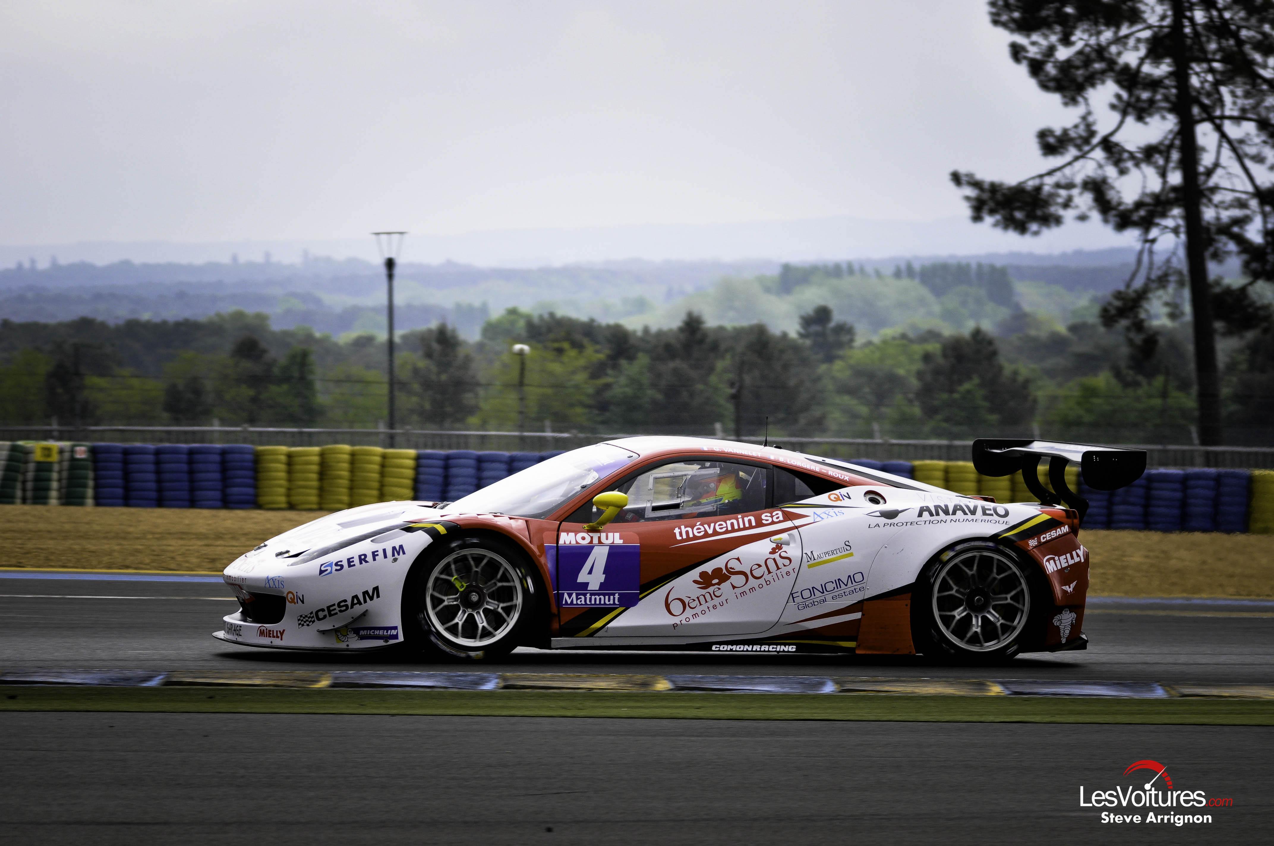 Gt tour le mans 2014 ferrari 458 gt3 sport garage vannelet lorgere roux les voitures - Garage volkswagen le mans ...
