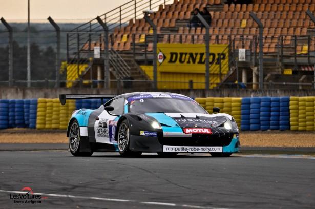 GT-Tour-Le-Mans-Bugatti-2014-Police-Ayari-Duqueine-Ferrari-458-GT3