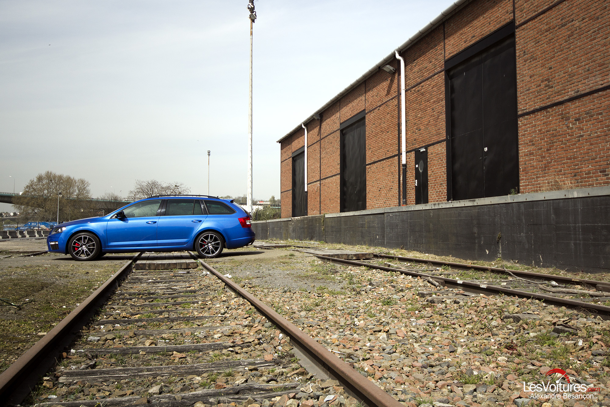 Škoda Octavia Combi RS : déménageur express !