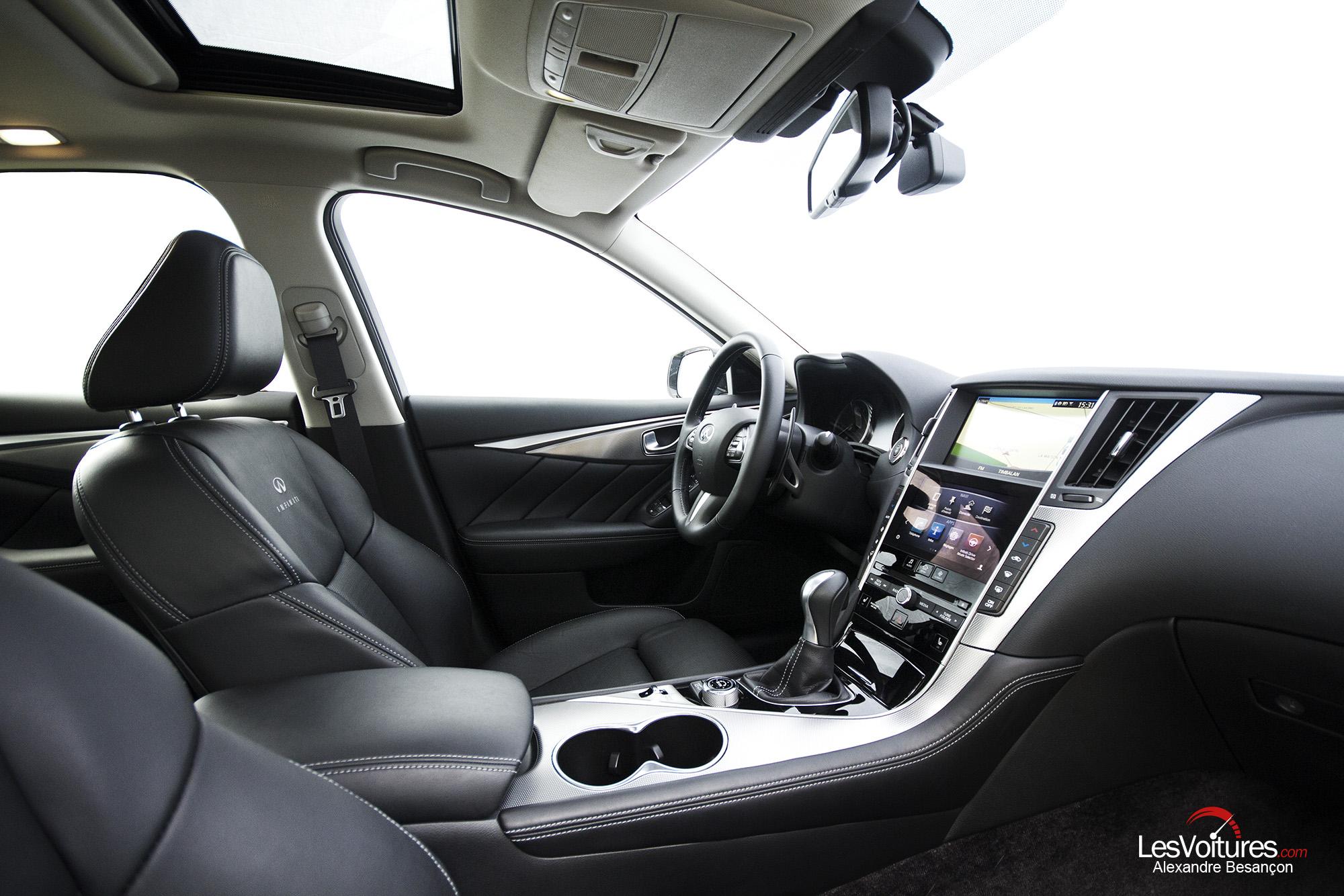 essai infiniti q50 diesel sport 27 les voitures. Black Bedroom Furniture Sets. Home Design Ideas