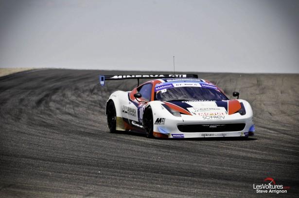 GT-Tour-2014-Ledenon-Ferrari-458-GT3-Sofrev-ASP-Olivier-Panis