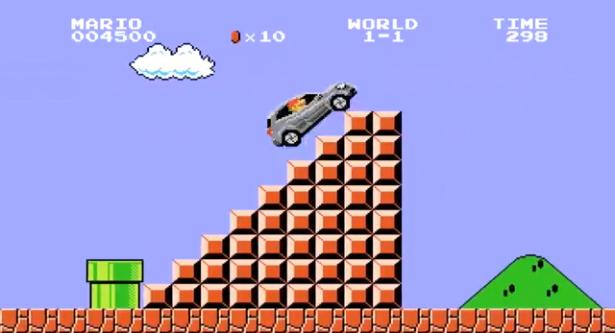 Super-Mario-Mercedes-Benz-GLA-video