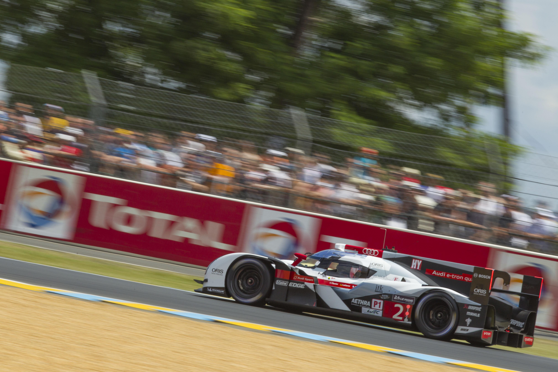 24 Heures du Mans : doublé Audi qui domine les pièges du Mans !