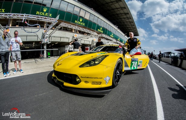 Chevrolet-Corvette-C7R-Racing-C7R-Stand-24-Heures-du-Mans-2014-Journee-Test