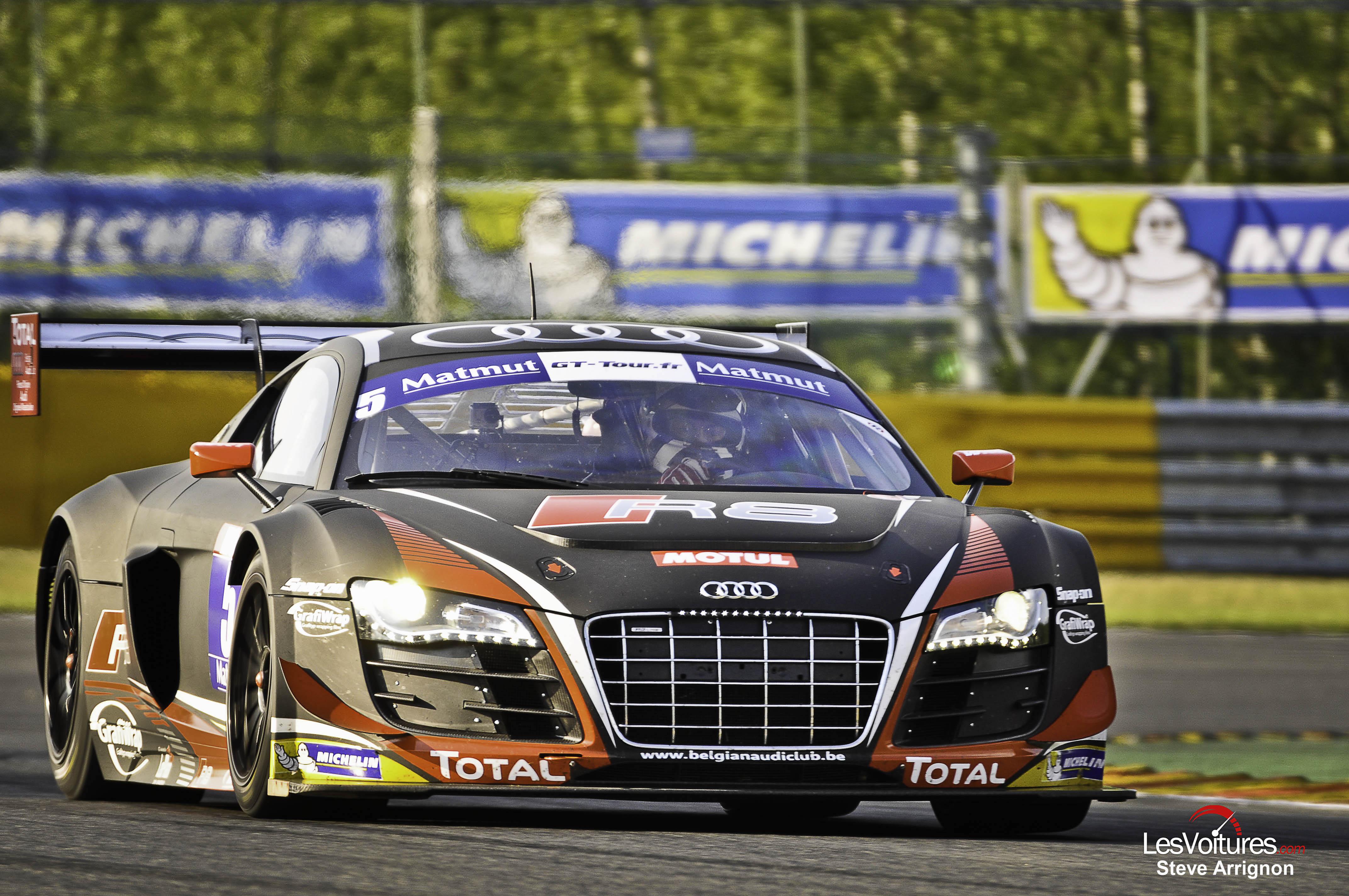 GT Tour : Ferrari et Audi s'imposent dans le chaos de Spa-Francorchamps !