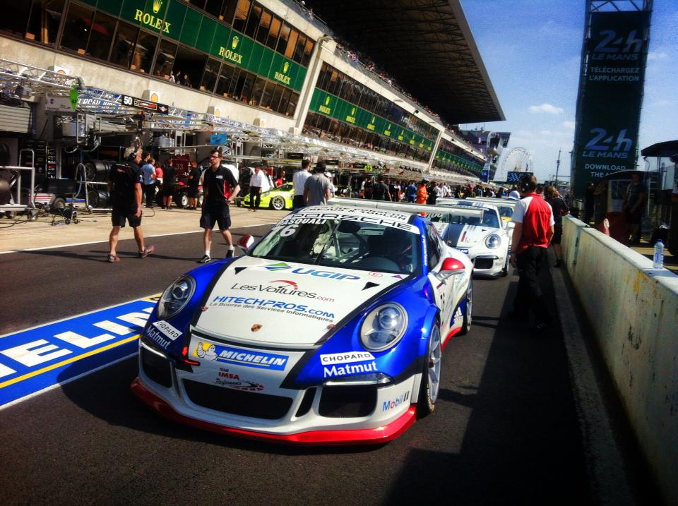 Porsche Carrera Cup France & Great Britain Le Mans : Laurent Pasquali en maître au Mans !