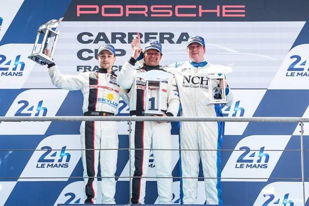 Porsche-Carrera-Cup-France-Great-Britain-24-Heures-Mans-2014-Podium-B