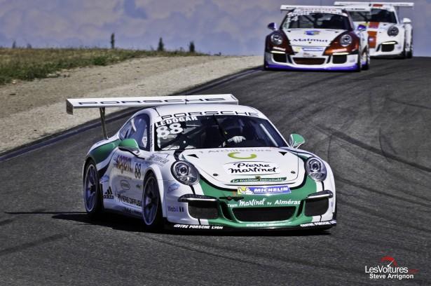 Porsche-Carrera-Cup-France-Ledenon-2014-Come-Ledogar