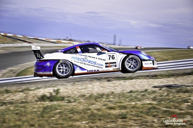 Porsche-Carrera-Cup-France-Ledenon-2014-IMSA-Performance-Matmut-Laurent-Pasquali