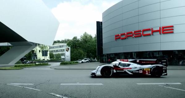 Vidéo : Audi taquine Porsche avec la R18 e-tron quattro aux abords du Mans !