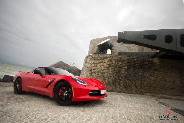 essai-test-drive-chevrolet-chevy-c7-stingray-normandy-2014-Spirit-of-1944-arromanches-4