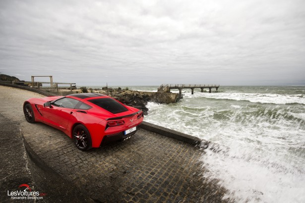 essai-test-drive-chevrolet-chevy-c7-stingray-normandy-2014-Spirit-of-1944-omaha-beach-landing-2
