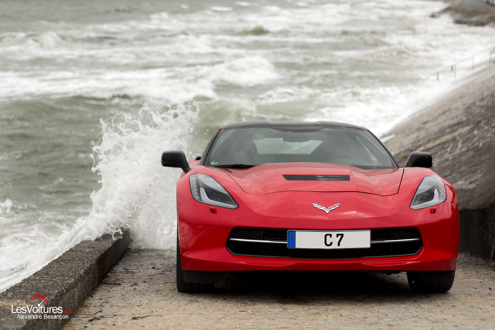 Corvette C7 Stingray : road trip hommage en Normandie…