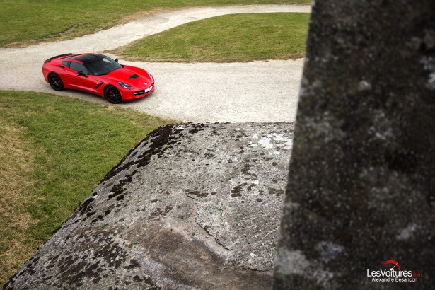 essai-test-drive-chevrolet-chevy-c7-stingray-normandy-2014-Spirit-of-1944-saint-marcouf