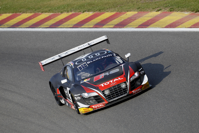 24 Heures de Spa : les Audi R8 LMS Ultra sortent du chaos après 4 heures d'épreuve !