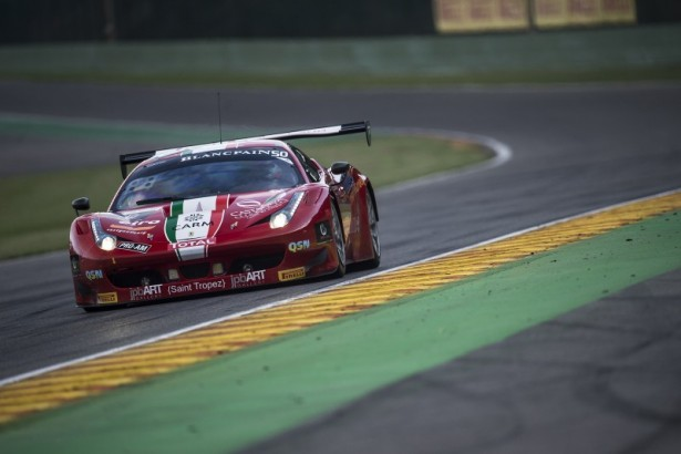 Ferrari-458-Italia-#50-AF-CORSE-Pro-Am-Cup-pole-24-Hours-of-Spa-2014