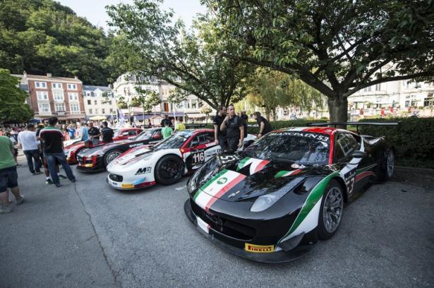 Ferrari-F458-GT3-24-Hours-Spa-Parade-2014