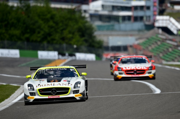 Mercedes-SLS-AMG-GT3-#84-HTP-MOTORSPORT-24-Hours-of-Spa-Test-2014-Free-Practice