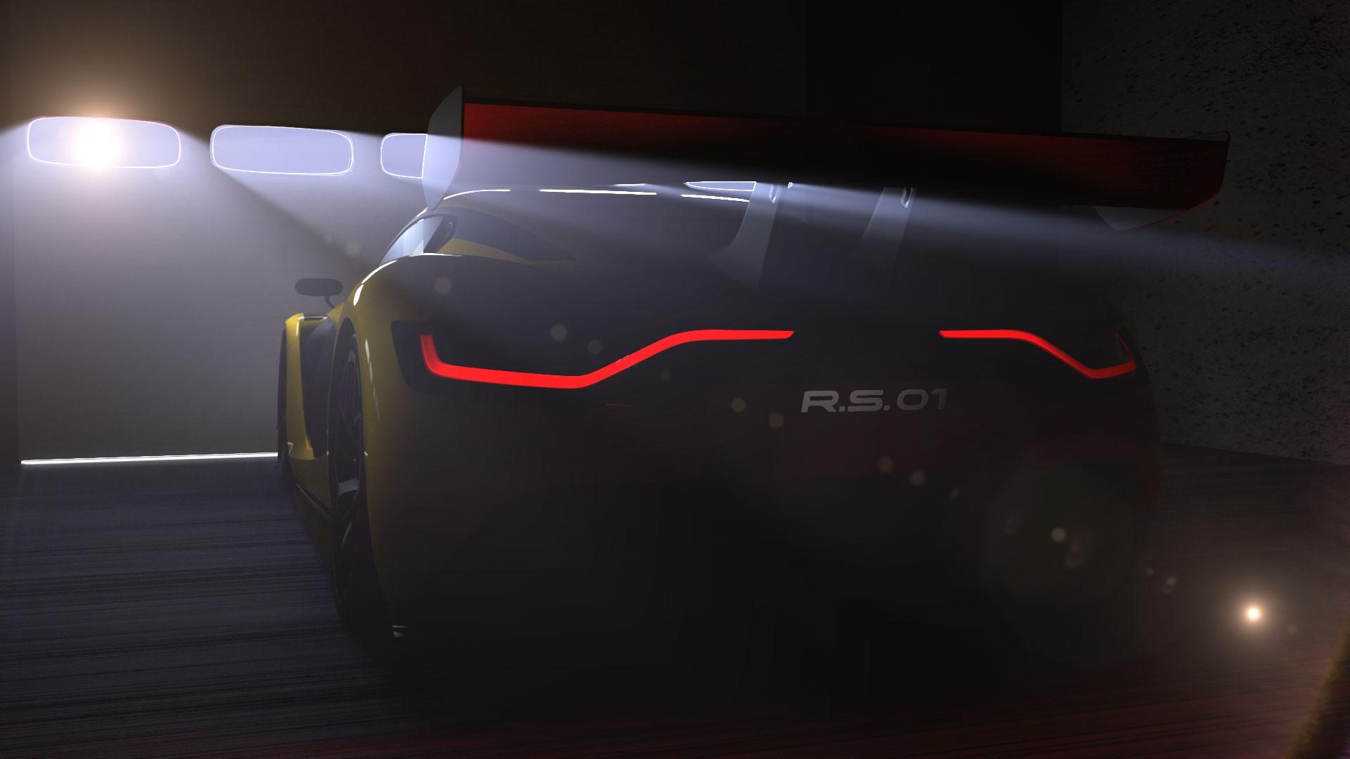 Renault Sport R.S. 01 : la nouvelle voiture de course au losange en approche…