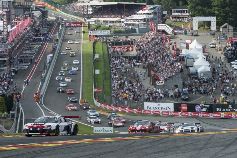 24 Heures de Spa : c'est parti, Audi devant après 1 heure de course…
