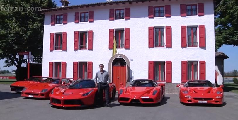 Vidéo : il vient prendre livraison de sa LaFerrari avec toute sa collection !