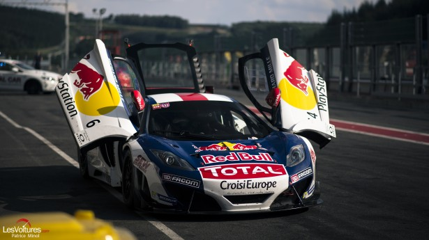 Curbstone-Track-Day-Spa-Francorchamps-August-2014-McLaren-GT3-Loeb-Racing