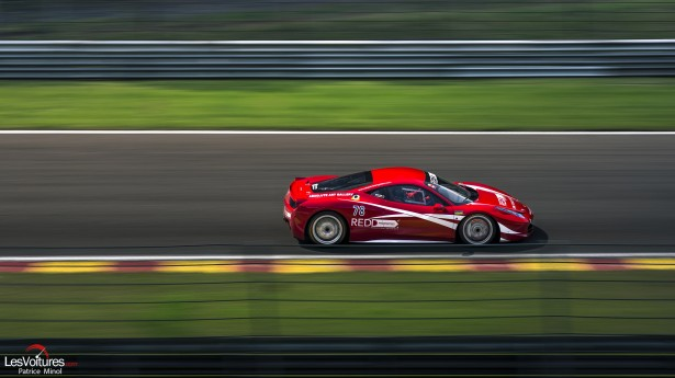 Curbstone-Track-Day-Spa-Francorchamps-August-2014-Redd-Ferrari-458-Challenge