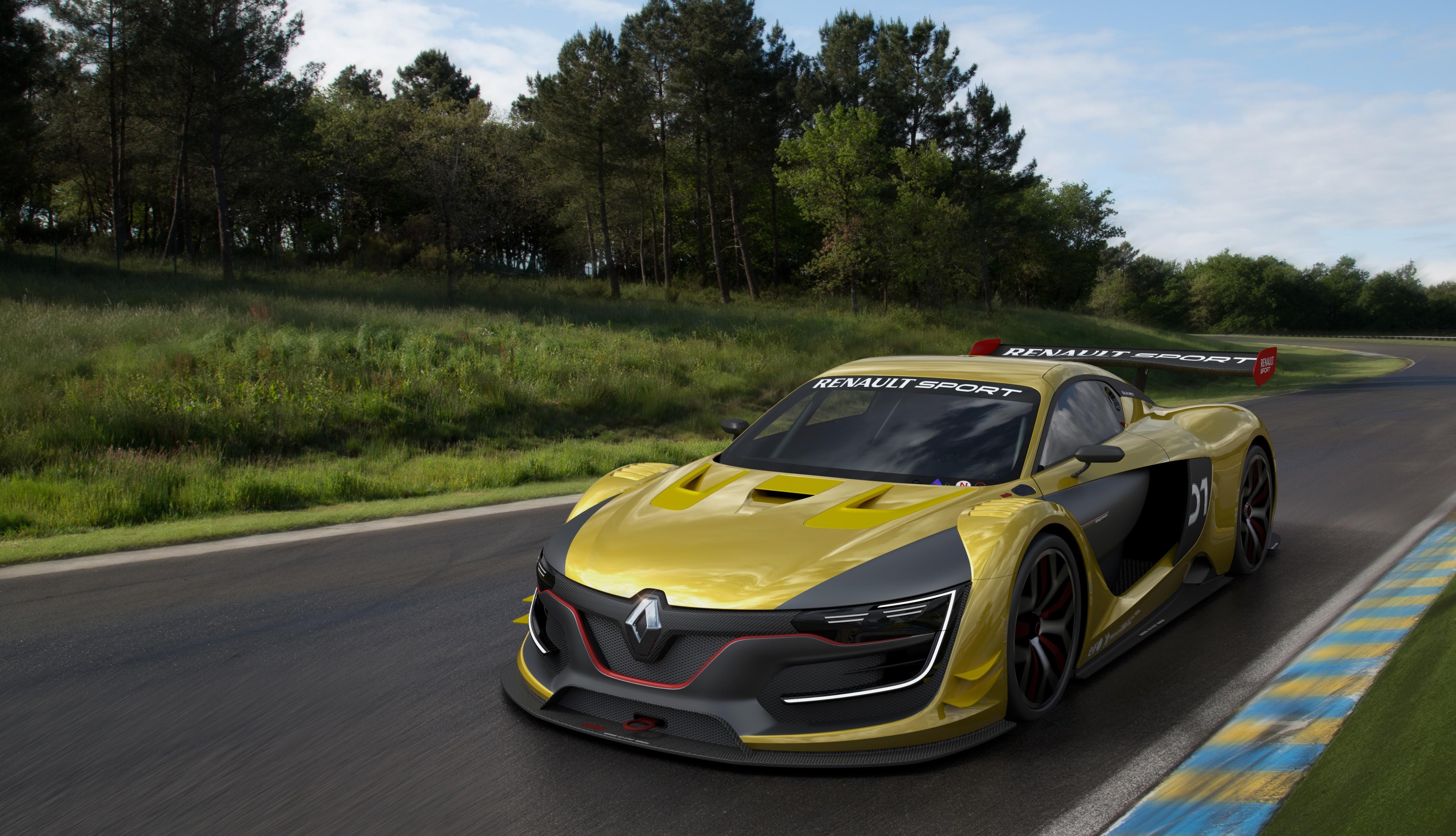 Renault Sport R.S. 01 : sous les traits de l'Alpine !