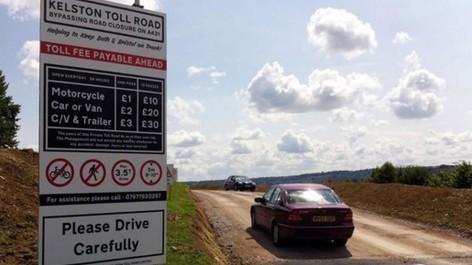 Angleterre : un businessman ouvre sa propre route à péage