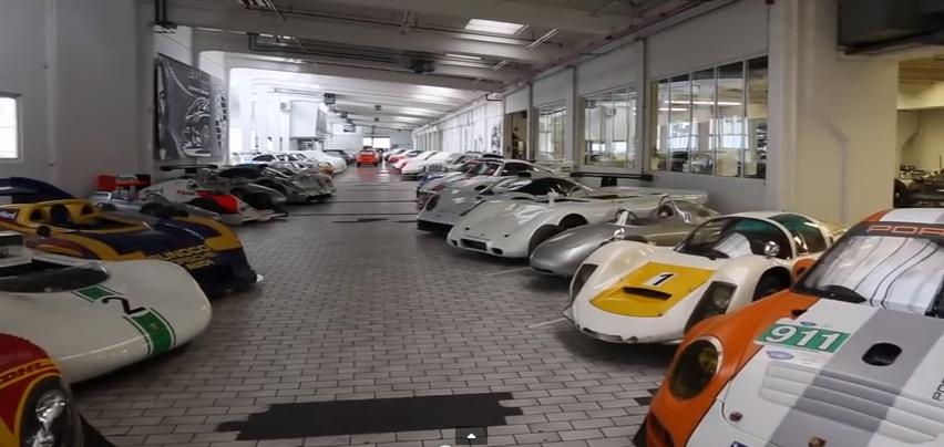"""Vidéo : Porsche ouvre les portes de son incroyable musée classé """"top secret""""…"""