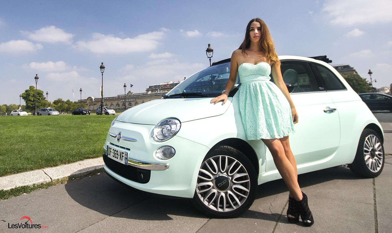 Fiat 500C Club : deux italiennes à Paris…