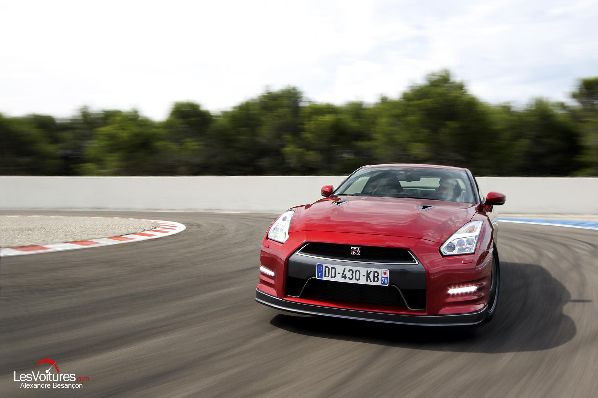 Nissan GT-R : le cru 2014 à l'essai sur le circuit du Paul Ricard !