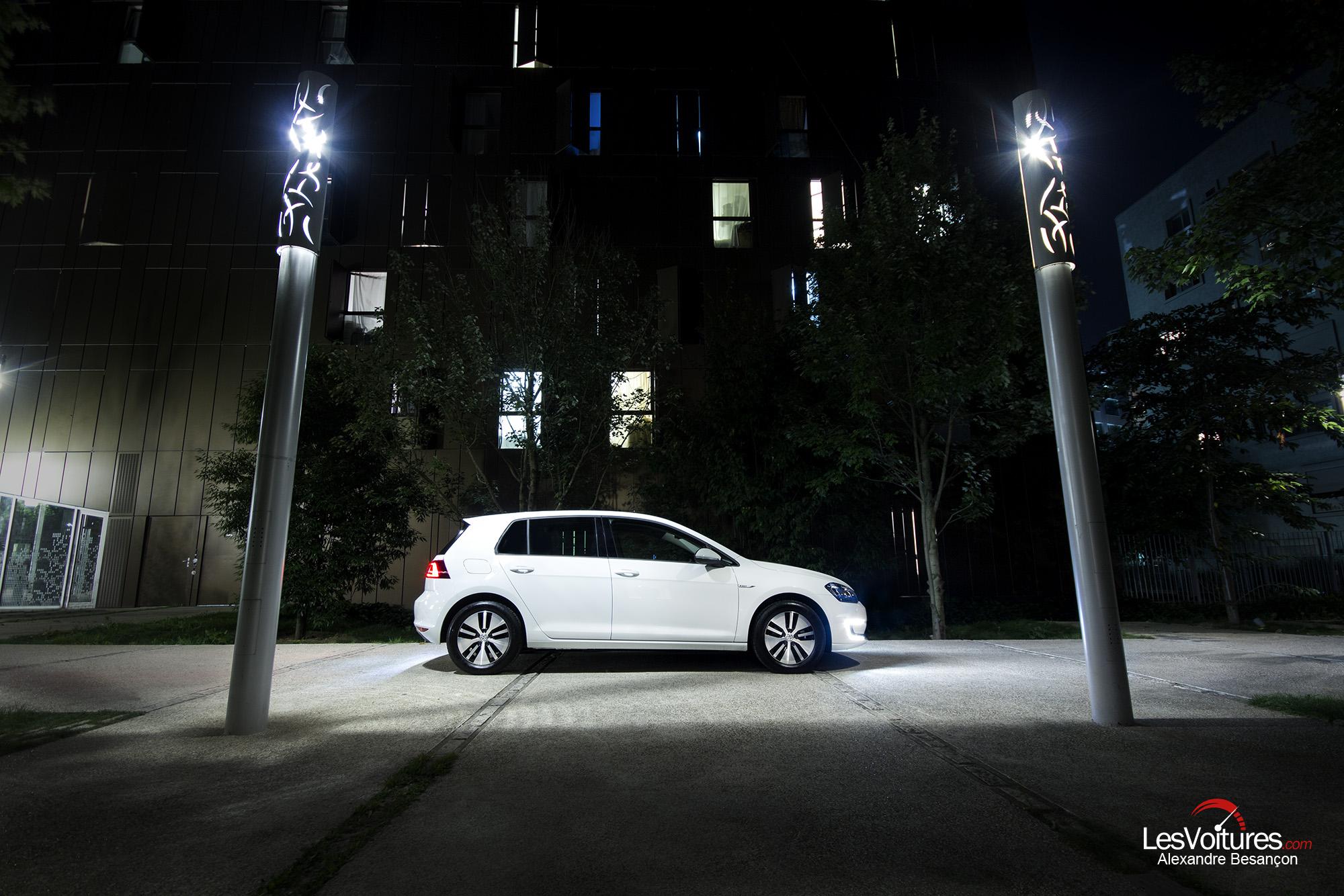 Volkswagen e-Golf : l'essai de la compacte discrète et branchée…