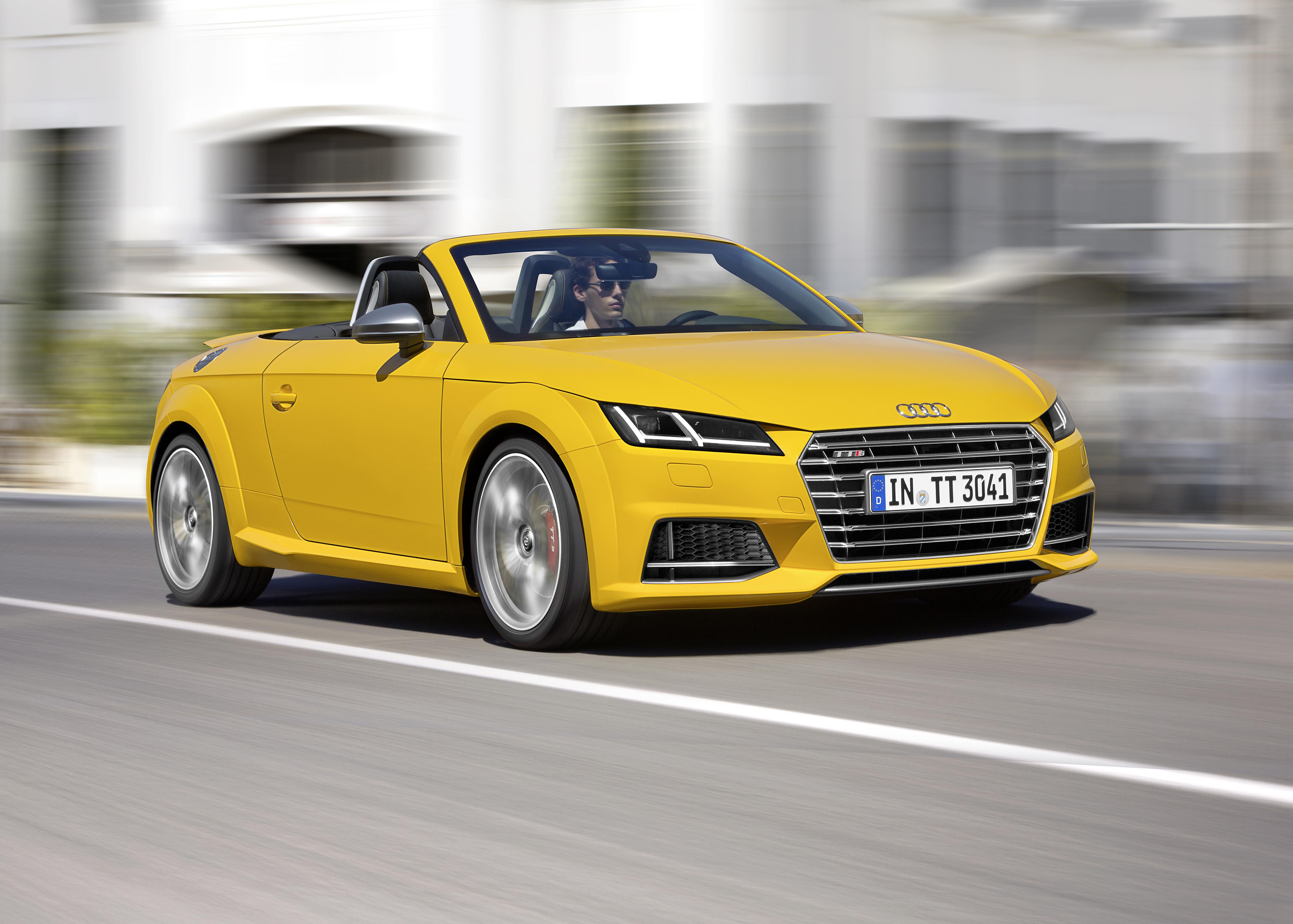 Audi TT : les versions Roadster et TTS Roadster dévoilées !