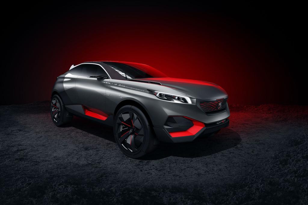 Peugeot Quartz Concept Car Mondial Auto 2014 3008 Paris 3