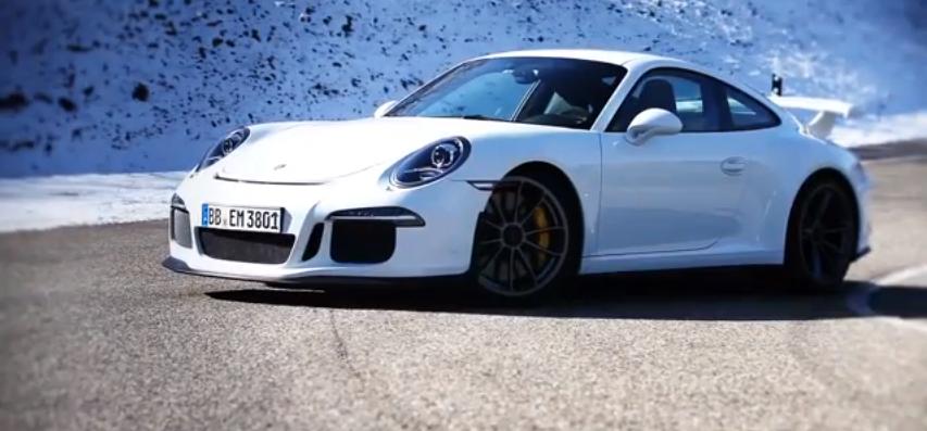 Vidéo : la Porsche 911 GT3 en piste à Weissach !