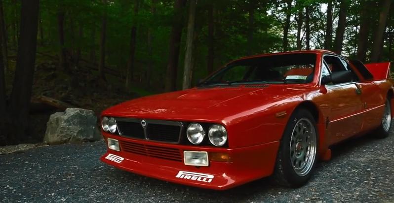 Vidéo : la superbe Lancia 037 Stradale, icône d'un âge révolu…