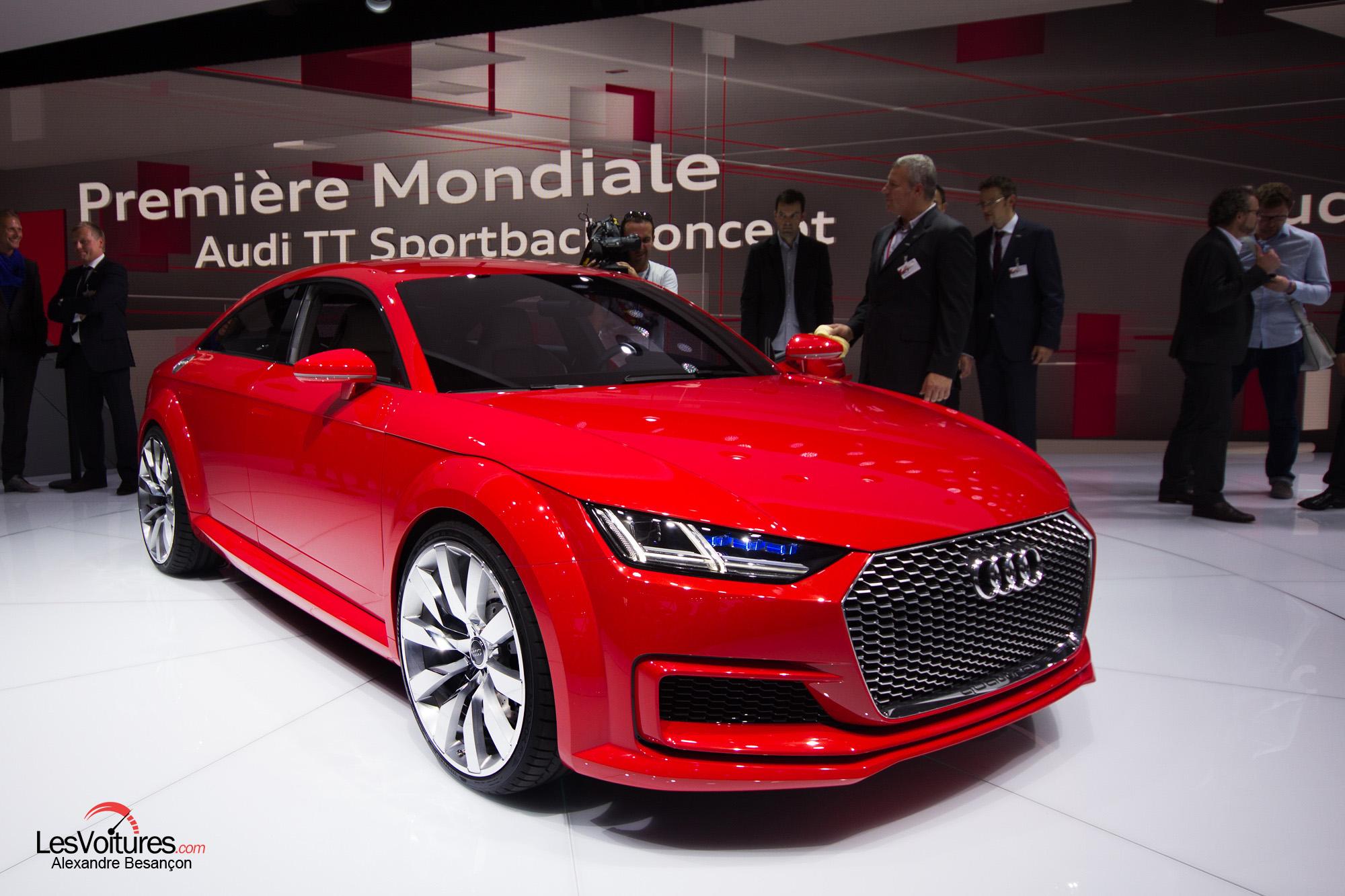Audi TT Sportback Concept : prémisse d'une version familiale du coupé…