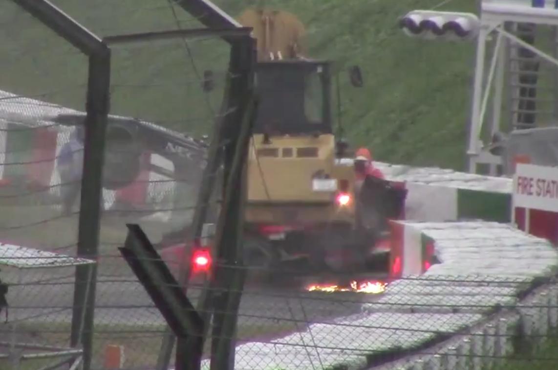 Vidéo : l'effroyable accident de Jules Bianchi…