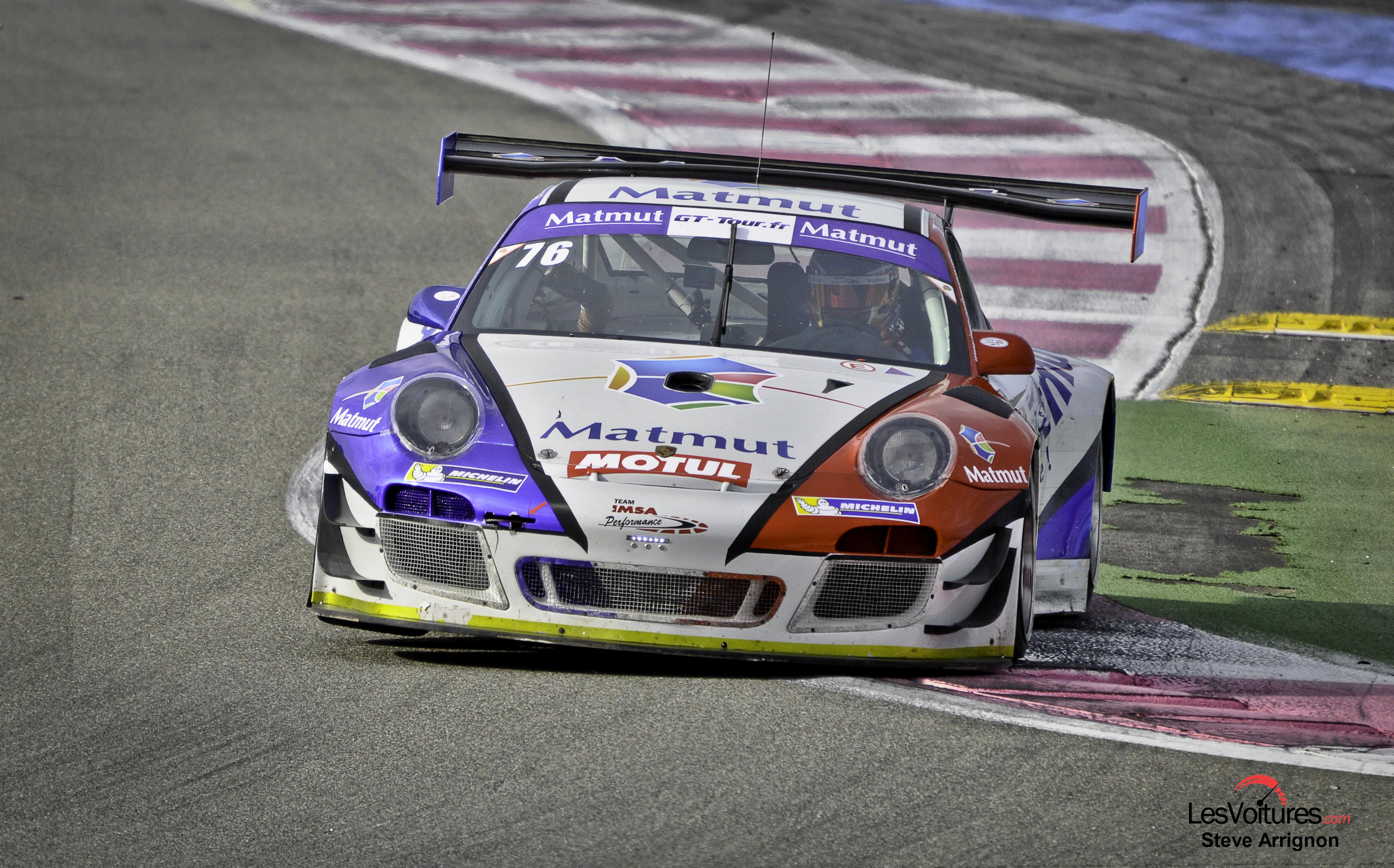 GT Tour : Armindo/Narac champions sur la Porsche 911 GT3-R !