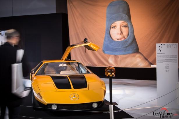 Mondial-Automobile-2014-exposition-mode-et-automobile -Mercedes-Benz-C111-concept