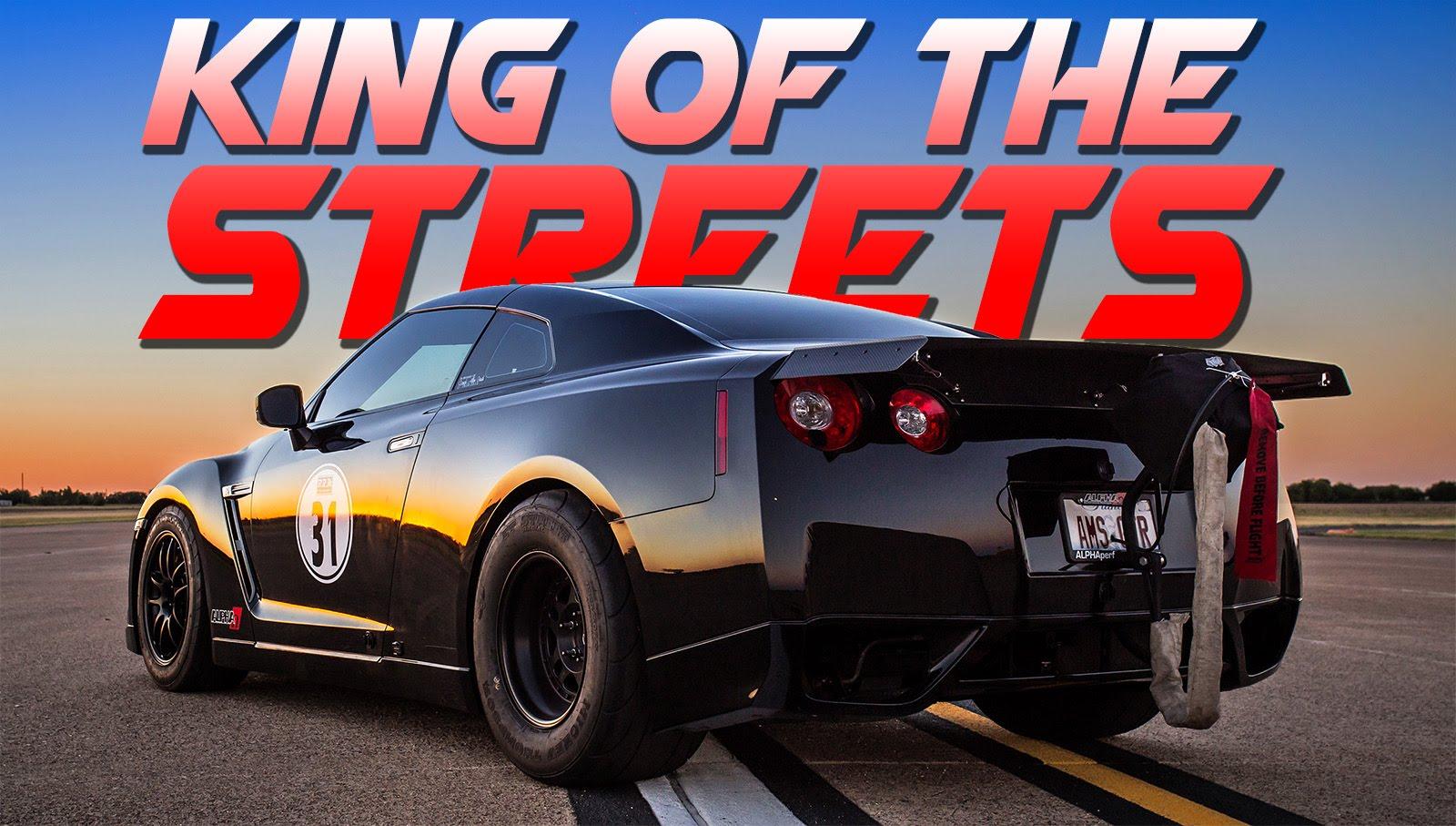 Vidéo : la Nissan GT-R de 2 000 chevaux et son parachute pour freiner !
