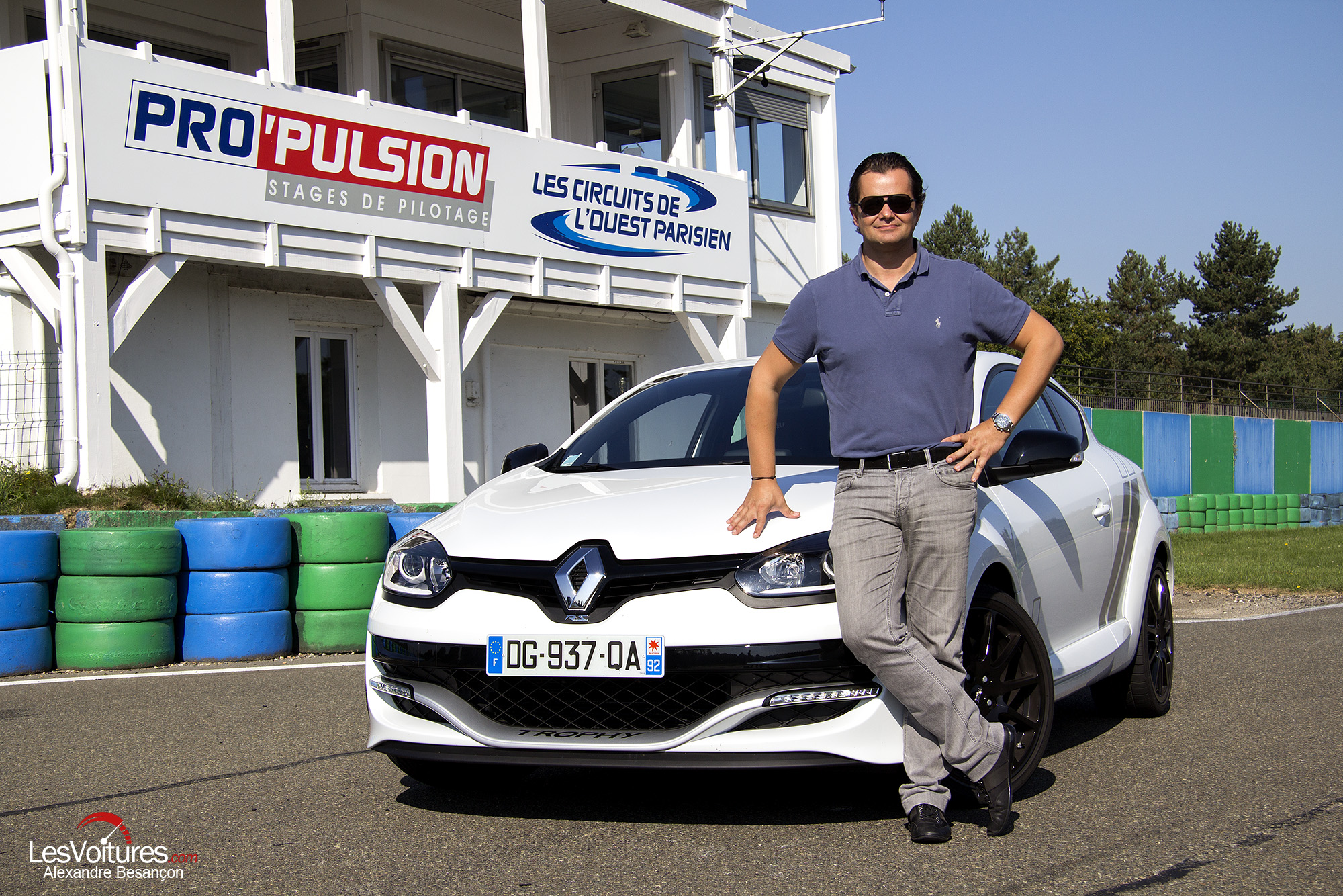 Renault Mégane R.S. 275 Trophy : en piste avec Laurent Pasquali !