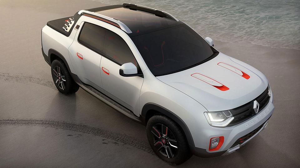 Renault Duster Oroch Concept : prémisse d'un futur pickup…