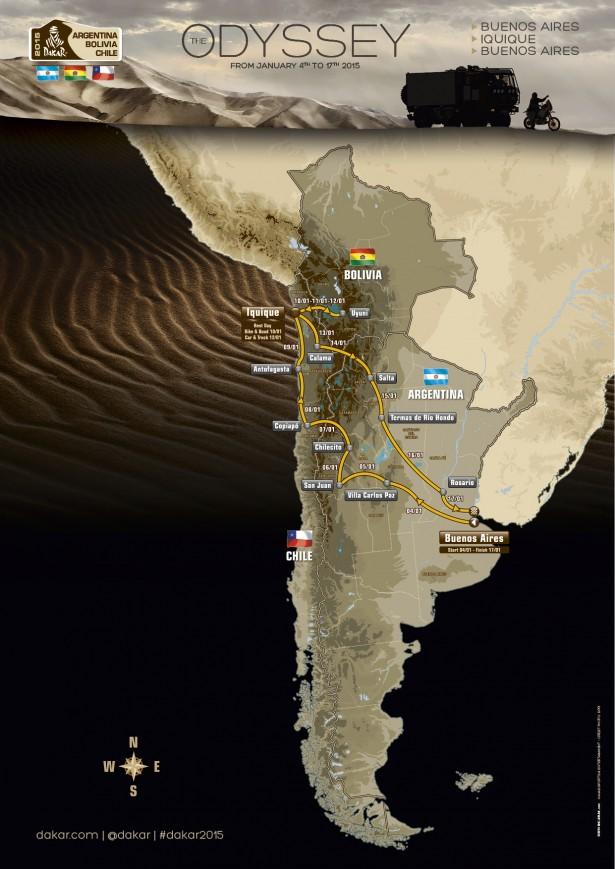 Dakar-2015-etapes-parcours